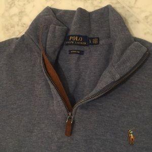 Men's Polo Shirt-Sweater, Ralph Lauren, L, NWOT.